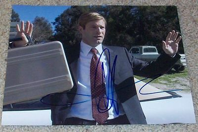 AARON ECKHART SIGNED AUTOGRAPH THANK YOU FOR SMOKING BATMAN 8x10 PHOTO A w/PROOF