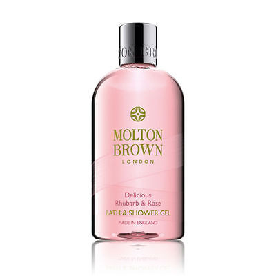 Molton Brown Delicious Rhubarb & Rose Shower Gel 300ml FREE P&P