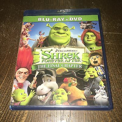 BRAND NEW! Shrek Forever After: The Final Chapter Blu-Ray DVD 2 Disc Combo Pack!