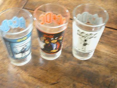 AC/DC Beer Pint Glasses - Set of 3 - FREE SHIPPING! Beer Rock