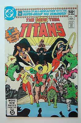 NEW TEEN TITANS #1 (1980 DC) Marv Wolfman George Perez (VF/NM)
