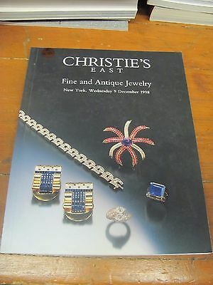 A975 Old Pawn Christie's East Fine And Antique Jewelry Ny Dec 9, 1998 Magazine