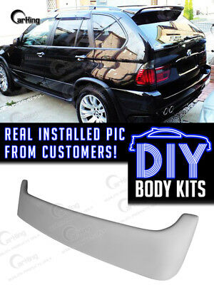 Carking 01 06 Bmw X5 E53 Extreme Rear Trunk Roof Spoiler Wing