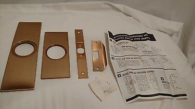 Weiser Locks Replacemant Kit for Mortise locks, Never Used