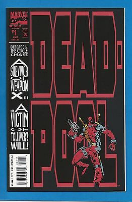 Marvel Comics DEADPOOL CIRCLE CHASE #1 - 1993 Ltd Series 1st Solo Deadpool Comic