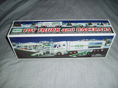 2003 Hess Truck... Truck And Racers... Brand New!