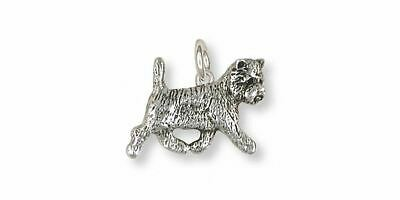 Westie Charm Jewelry Sterling Silver Handmade West Highland White Terrier Charm