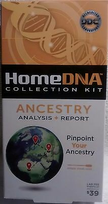 Home Dna Collection Kit Ancestry Analysis + Report  ~ Sealed ~