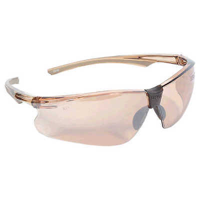 Uvex Predator PD505 Safety Glasses Brown Frame/Lens * BRAND NEW *