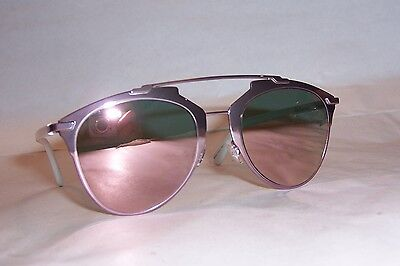 892e7355a New Christian Dior Reflected/S M2Q-0J Pink/Rose Gold Mirror Sunglasses  Authentic