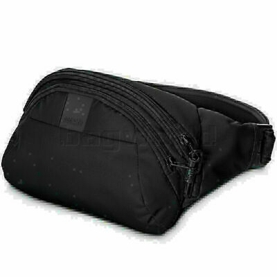 Pacsafe Metrosafe LS120 RFID Blocking Anti-Theft Hip Pack Black 30405