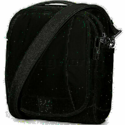 Pacsafe Metrosafe LS200 RFID Blocking Anti-Theft Shoulder Bag Black 30420