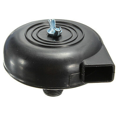 Muffler Filter for Air Compressor 20mm Black Plastic Male Threaded Exhaust Noise