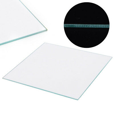 3D Printer Reprap MK2 Heated Bed Borosilicate Glass Plate Size 213*200*3mm