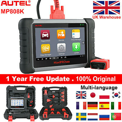 Autel MaxiDiag MD802 OBD2 Diagnostic Tool Code Reader Scanner ABS Airbag Engine