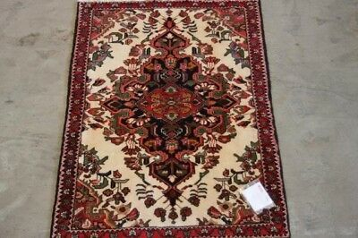 Small Genuine Hand Knotted, Natural Dyes 160X108 Saveh Persian Rug