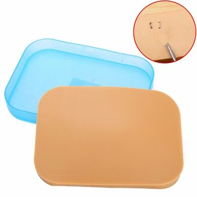 Surgical Incision Suture Training Pad Practice Human Skin Model 150*110*12mm