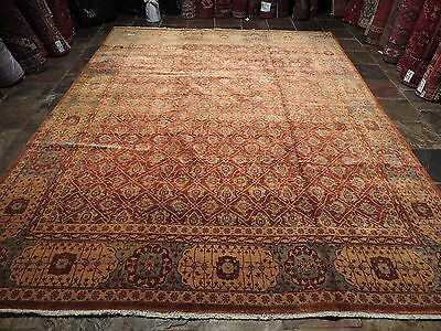 Recreation Of A 300 Years Old Tabriz 300X240 Carpet Rug