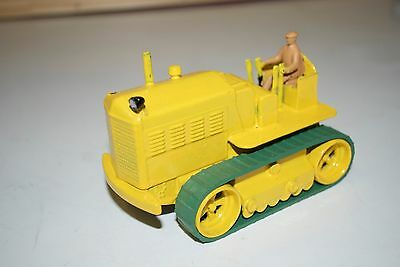 Dinky 963 Blaw Knox Heavy Tractor Repainted Supertoys Bulldozer