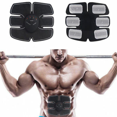EMS Remote Control Abdominal Muscle Trainer Smart Body Building Fitness ABS F