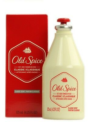 Old Spice Aftershave Cologne Classic Scent - 125 ml (4.25 Oz) FREE FAST UK DSP