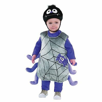 Childrens Itsy Bitsy Spider Halloween Costume Fancy Dress Outfit 2-3 Years