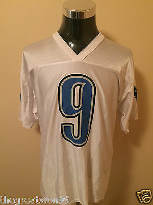 NFL Detroit Lions #9 LGE 7042A Printed Gridiron Supporters Jersey by Reebok