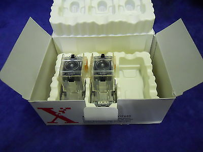 New Genuine Xerox 108R00493 Staple Cartridges 2-Pack 10,000 Staples
