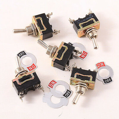 5pcs Switch Toggle 12V Heavy Duty Flick ON/OFF 12 controls creative design