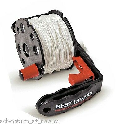 Best Divers Underwater Scuba Diving Wreck Reel With Handle And Line 50M ML0075