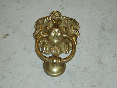Solid Brass Lion New Door Knocker