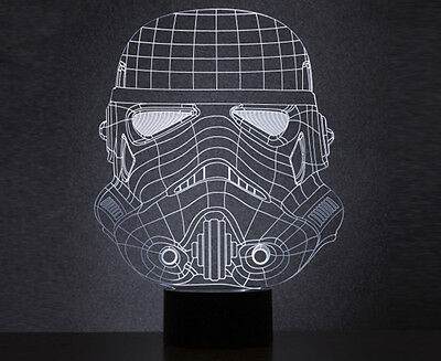 Thumbs Up! Original Stormtrooper Wireframe USB Lamp