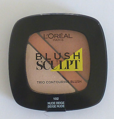 L'oreal Paris Blush Sculpt 102 Nude Beige