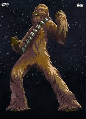 GALACTIC ICONS CHEWBACCA 2 Topps Star Wars Card Trader Digital