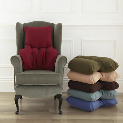 Chair Back Support Cushion Comfortable Lumber support In A Choice of Colours