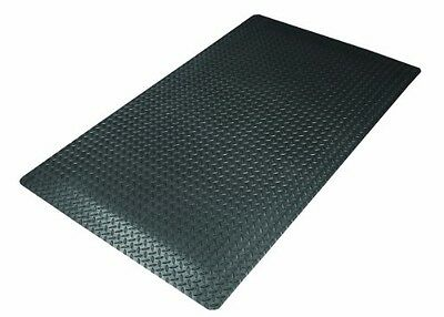 NoTrax 975S0023BL Cushion Trax Ultra Floor Mat, 2' x 3', Black