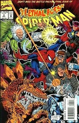 Lethal Foes of Spider-Man (1993) #4 VF Marvel Comic (MR-23)