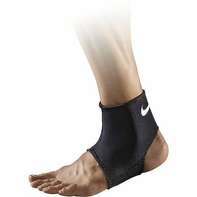 Nike Pro Combat Ankle Sleeve 2.0, Black Large