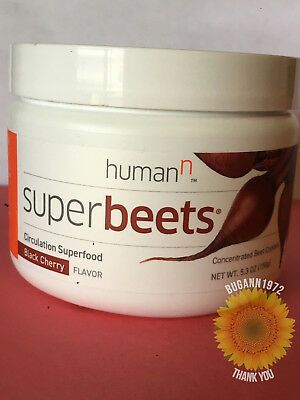 Super Beets    Circulation Superfood    Black Cherry   Ships FREE FAST   HumanN