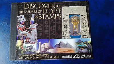 Ägypten Briefmarken Discover the Treasure of Egypt in Stamps   2004