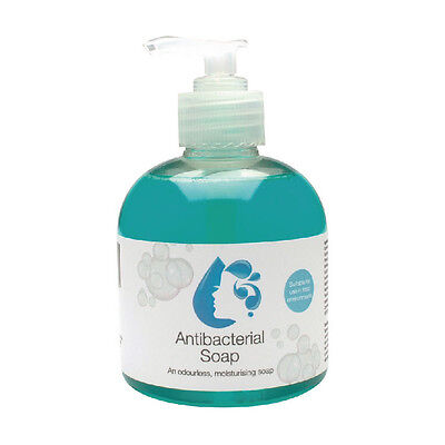 2Work Anti-bacterial Pump Hand Soap 300ml (Pack of 6) 2W30037