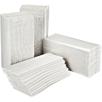 2Work White 2-Ply C-Fold Hand Towels 310x225mm (Pack of 2355) 2W70063