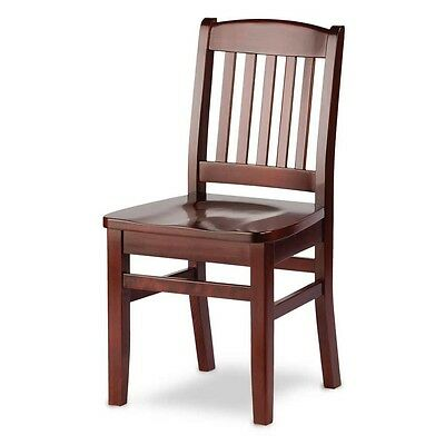Custom Solid Wood Restaurant Dining Chairs - Made In Canada