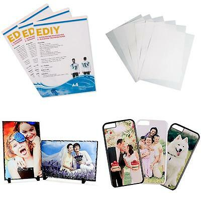 """sublimation paper heat transfer sheets - 8.5"""" x 11"""" (100 sheets)"""