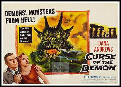 Night Of The Demon 3  Horror Movie Posters Classic & Vintage Cinema