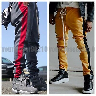 EPTM. Men's Jogger Pants Fashion Sports Joggers Gym Workout Hip Hop TRACK PANTS