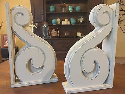 Large Rustic Old World Corbels / Brackets