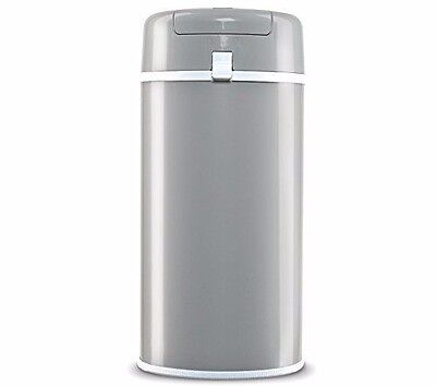 NEW Bubula Stainless Steel Diaper Pail, Grey