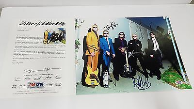 *PSA LETTER* Autographed 11x14 AEROSMITH - ALL 5 BAND MEMBERS-STEVEN TYLER