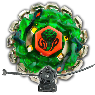 Beyblade Poison Serpent BB-69 Metal Fusion With LL2 Launcher and Rip Cord